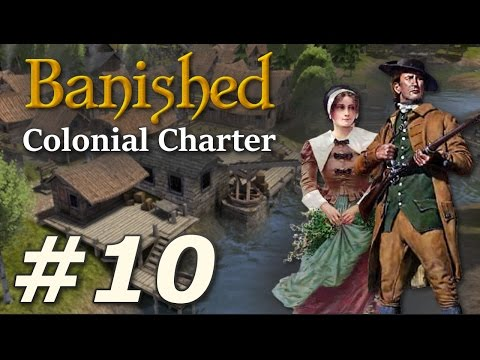 Banished: Colonial Charter (v1.71) - New Cardiff (Part 10)