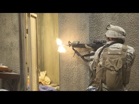 United States Marine Corps Training - Realistic Training Scenario at Camp Pendleton