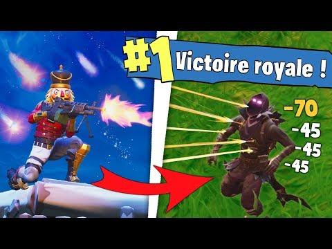 NOUVELLE MITRAILLEUSE LÉGÈRE pour TOP1 !!! Fortnite Battle Royale !