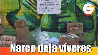 Narco deja apoyo para víctimas de sismo en México #Chihuahua