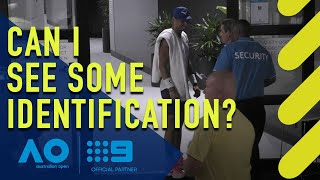 Rafael Nadal stopped by security | Wide World of Sports