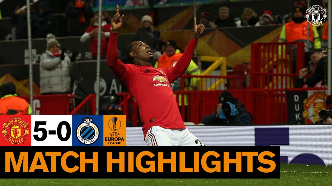 Highlights | Manchester United 5-0 Club Brugge | UEFA Europa League