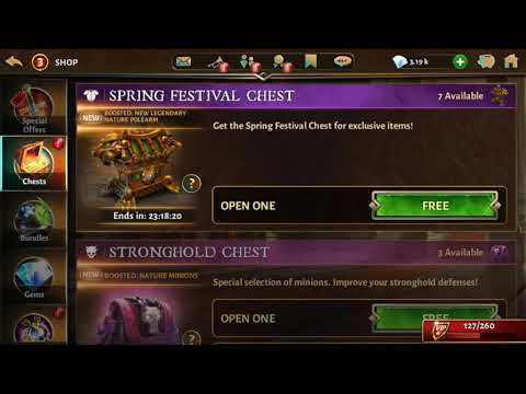 Dungeon Hunter 5 - Spring Festival Chest Opening