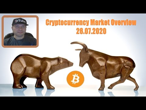 Cryptocurrency Market Overview (EN) | 26.07.2020 by @cryptospa