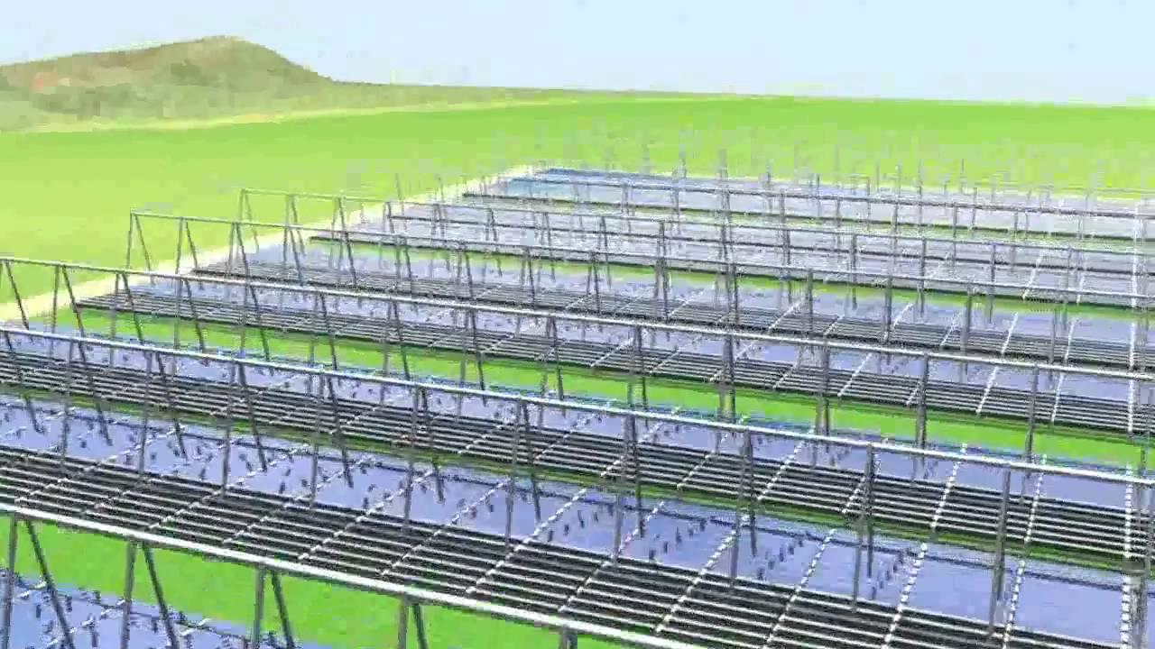 Solare Termodinamico a Concentrazione 1 MWe - 10 MWe (Sistema di specchi  Fresnel)