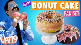 Giant Doughnut Cake Pan Set