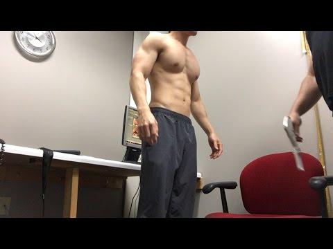 BODY FAT MEASUREMENT - 375lb (170kg) bench press @ 154 body weight