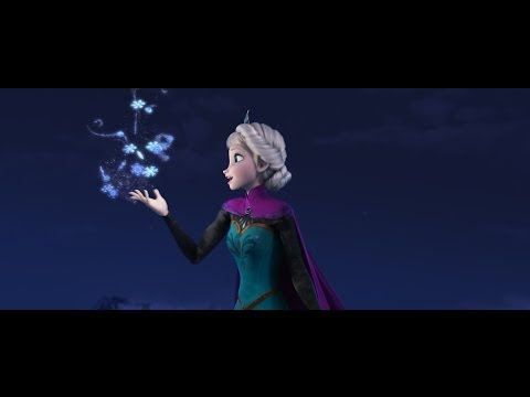 Disneys Frozen Let It Go Sequence Performed  Idina Menzel