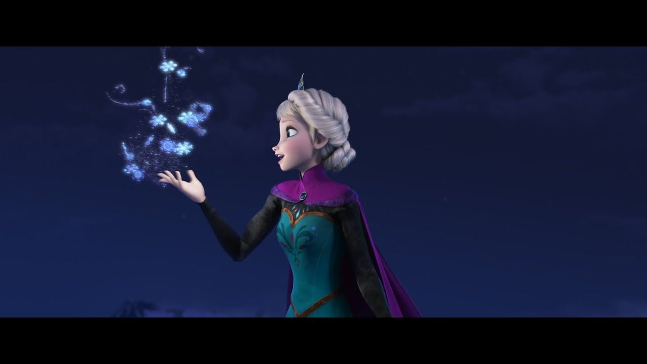 Disney S Frozen Let It Go Sequence Performed By Idina