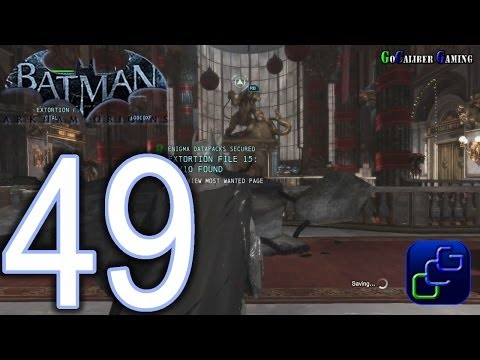 BATMAN: Arkham Origins Walkthrough - Part 49 - Gotham City Royal Hotel, Enigma Datapacks