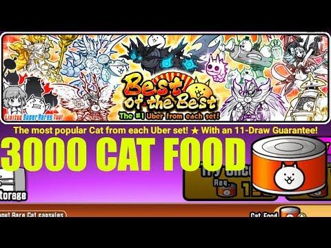 the battle cats cat food