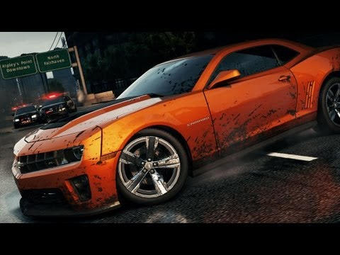 Need For Speed Most Wanted Chevrolet Camaro Zl1 Hidden