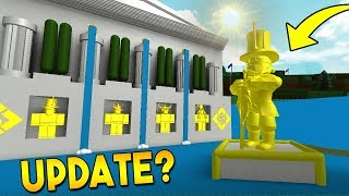 *NEW* HALL OF FAME UPDATE? | Build a boat For Treasure ROBLOX