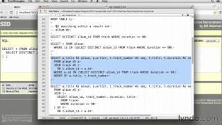 Основы SQL | Введение | Lynda.com | newskills.ru