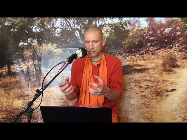 Е.С. Ананда Вардхана Свами. Шримад Бхагаватам 10.18.10-11 - Монастырь Святого Имени. 28.05.2020