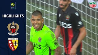 OGC Nice - RC Lens ( 2-1 ) - Highlights - (OGCN - RCL) / 2020-21