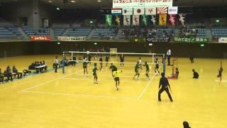 2011年全日本インカレ 準々決勝 中央大vs筑波大 第5セット 4/6