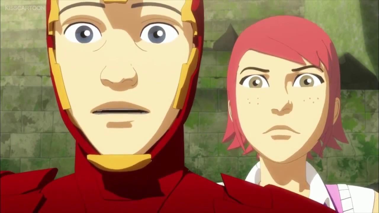 Ironman vs gene ironman armored adventures part 1 youtube - Iron man en dessin anime ...