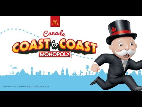 rare game pieces mcdonalds monopoly canada 2018. Black Bedroom Furniture Sets. Home Design Ideas
