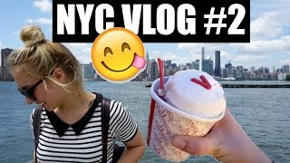 Vlog #5: Central Park, Metropolitan Museum & Ice Cream + What I Ate Today