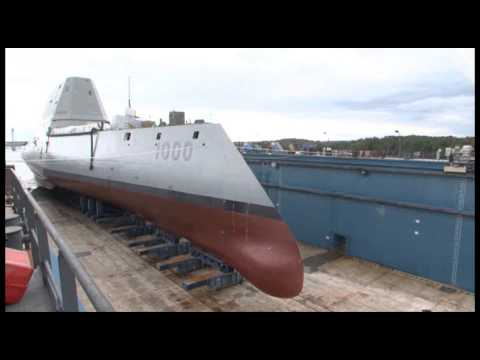ZUMWALT (DDG 1000) TRANSFER & FLOAT OFF 90 SECONDS