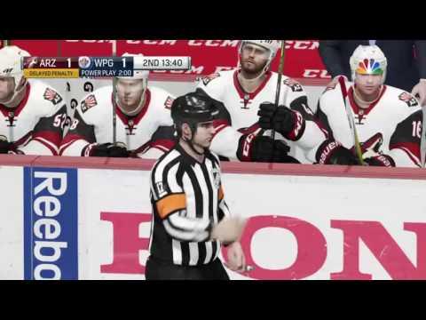 NHL 17: Arizona Coyotes at Winnipeg Jets