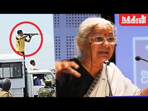 Questioning the State & Corporate leads to Victory - Activist Medha Patkar   Anti-Sterlite protests