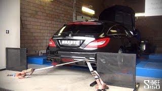 Brabus CLS 850 Shooting Brake on the Dyno - Epic Sounds