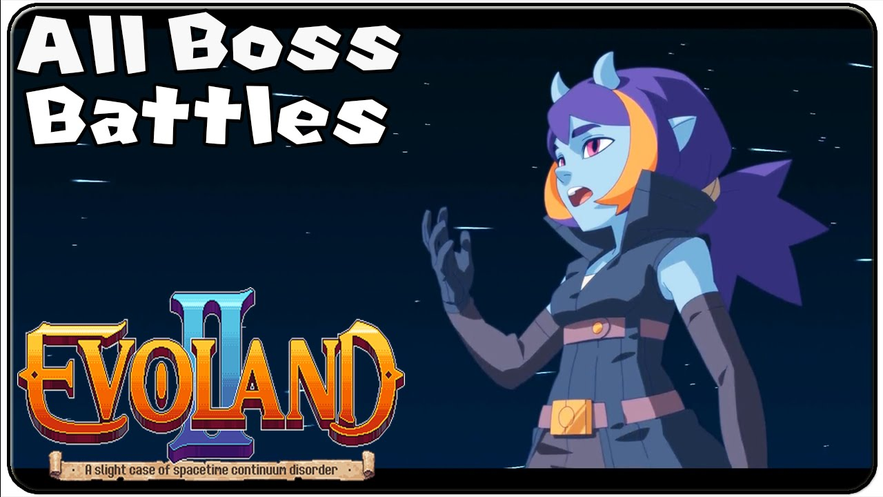 Evoland 2 All Bosses