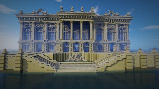 Minecraft Architecture: Baroque Palace/Opera House