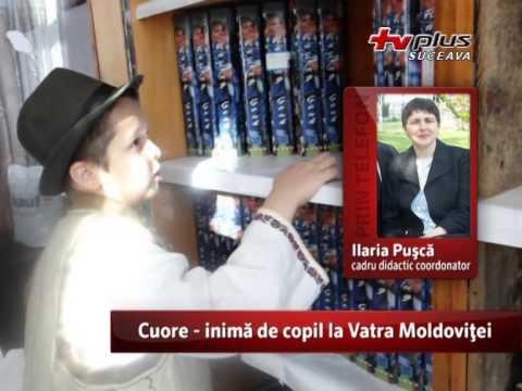 Cuore inima de copil la Vatra Moldovitei