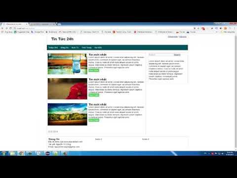 [SERIES] Hướng dẫn làm website tin tức - PHP(Object-Oriented) - Phần 1