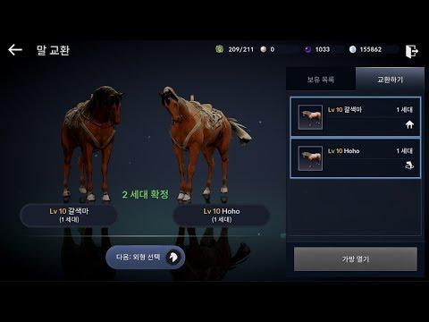 Black Desert Mobile Horse Breeding
