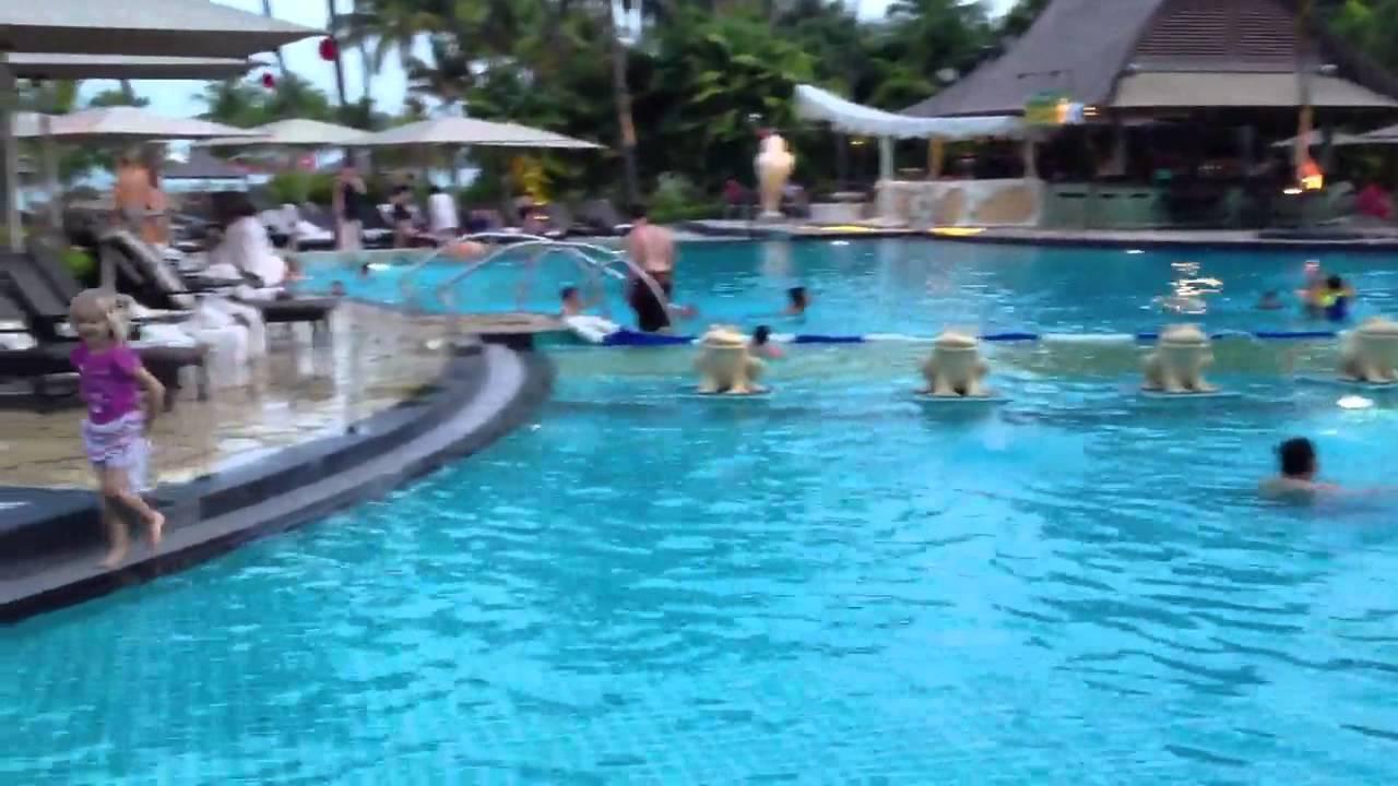 Shangri La Rasa Sentosa Pools Youtube
