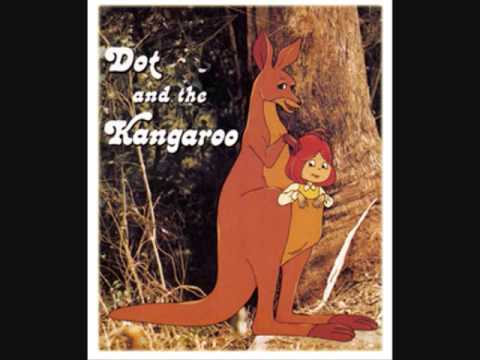 Dot In The Pouch Of A Red Kangaroo