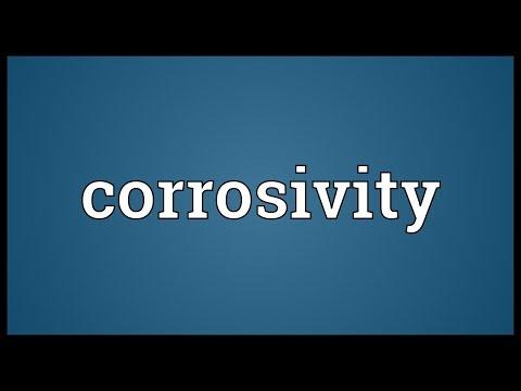 Header of corrosivity