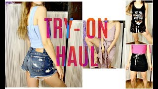 TRY ON HAUL VERANO! | BIKINIS, VESTIDOS... ZARA, PRIMARK...
