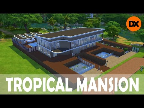 The Sims 4: Houses #11: Tropical Mansion -TheDriXx97