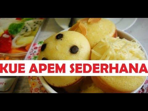 Cara Membuat Kue Apem Sederhana