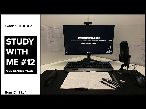 Study with me - VCE Edition #12 [3/08/19] // Methods Grind Before SAC 4.1 thumbnail