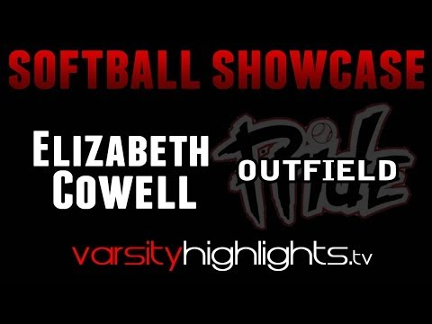 Elizabeth Cowell Softball Showcase (OF-NJ Pride/Mount Saint Dominic Academy Class of 2016)