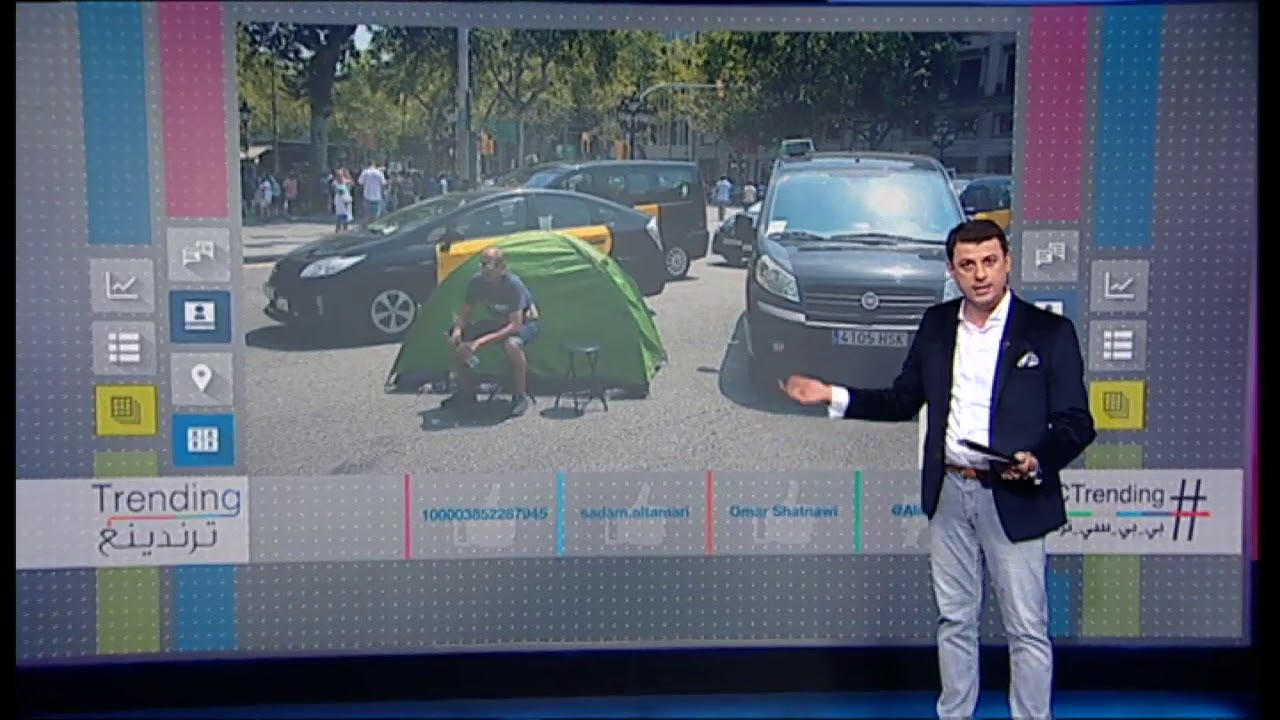 #بي_بي_سي_ترندينغ: فيديو ساخر لحمار يركب تاكسي في الأردن..ما قصته؟