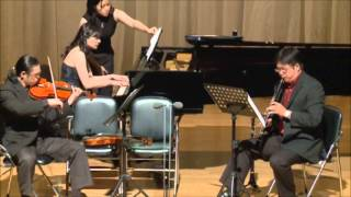 Bartok Contrasts for Clarinet, Violin and Piano BB 116 - 3rd Movement