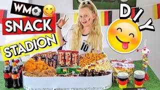 MEIN FUßBALL WM SNACK STADION ⚽ DIY MaVie