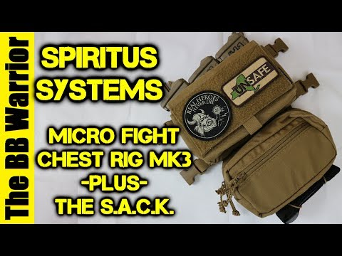 Spiritus Systems Micro Fight MK3 Chest Rig + S.A.C.K Overview