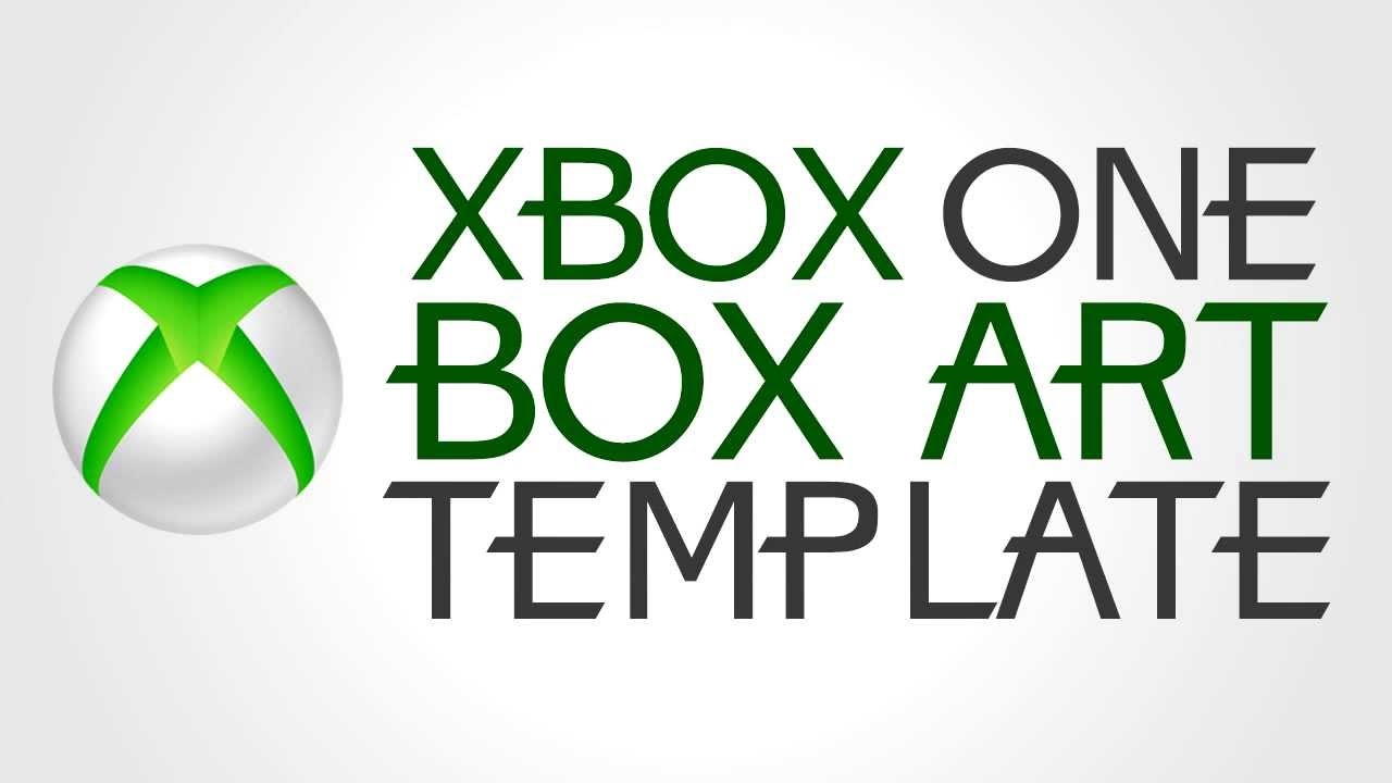 xbox one box art template download available at 50 likes youtube