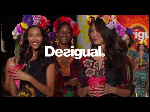 New York Fashion Week - Say Something nice SS15 collection - by Desigual