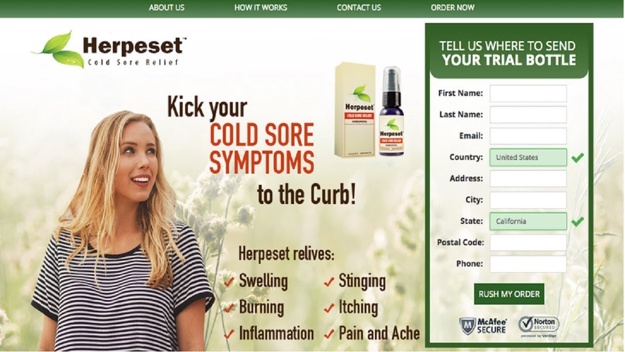 Sexual Health Product Herpeset Review Youtube