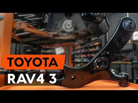 Как заменить нижний рычаг передней независимой подвески TOYOTA RAV 4 3 (XA30) [ВИДЕОУРОК AUTODOC]