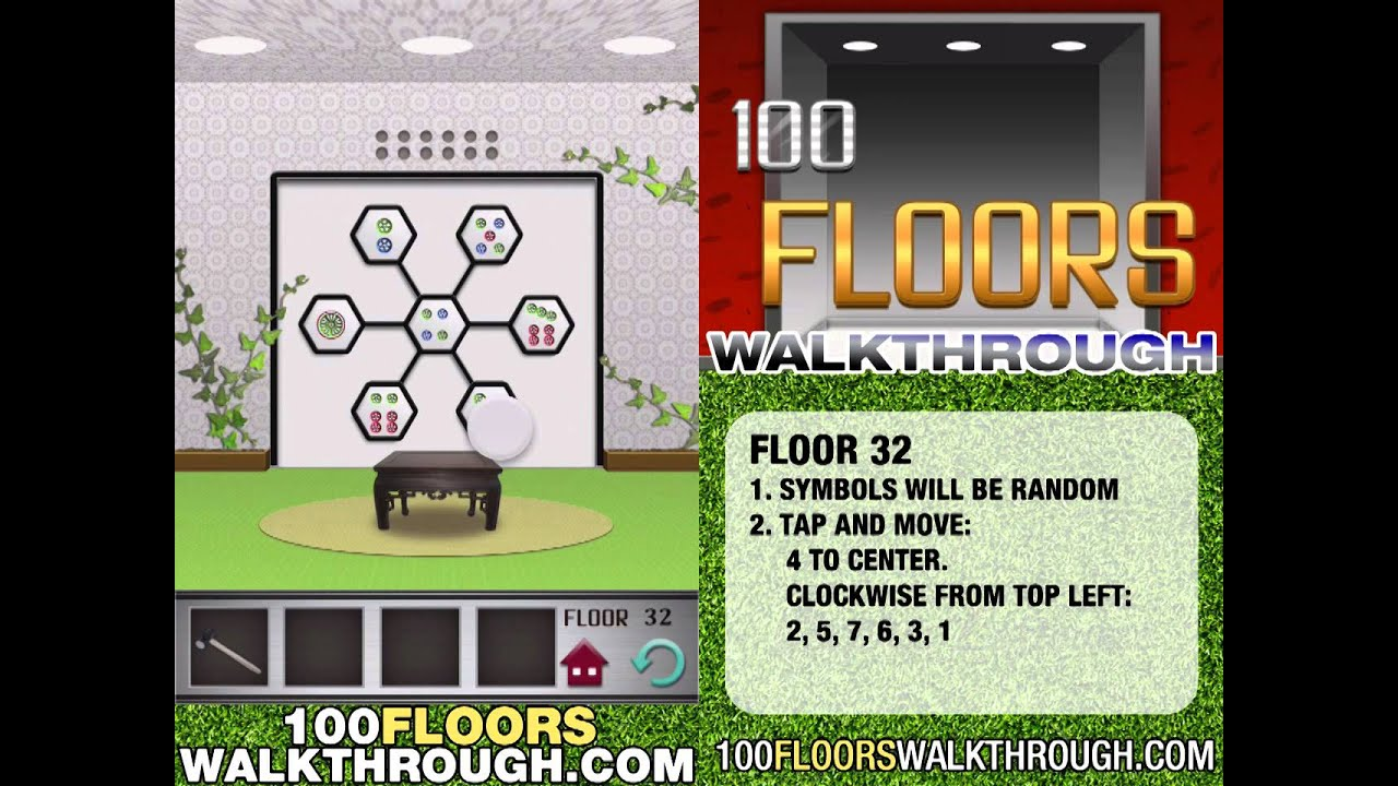 Floor 32 Walkthrough 100 Floors Walkthrough Floor 32
